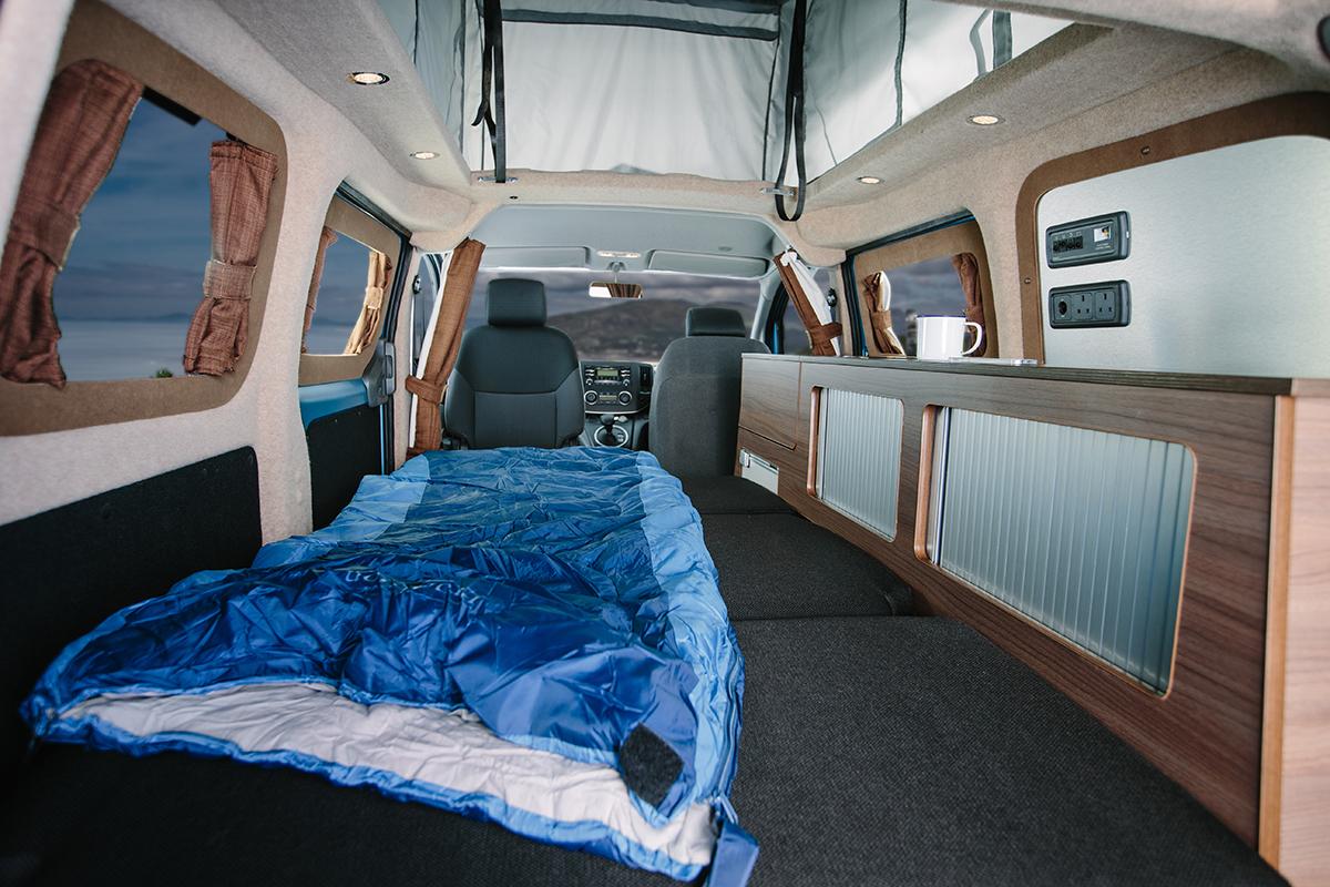 The Dalbury E - Electric Campervan Review - Hillside Leisure
