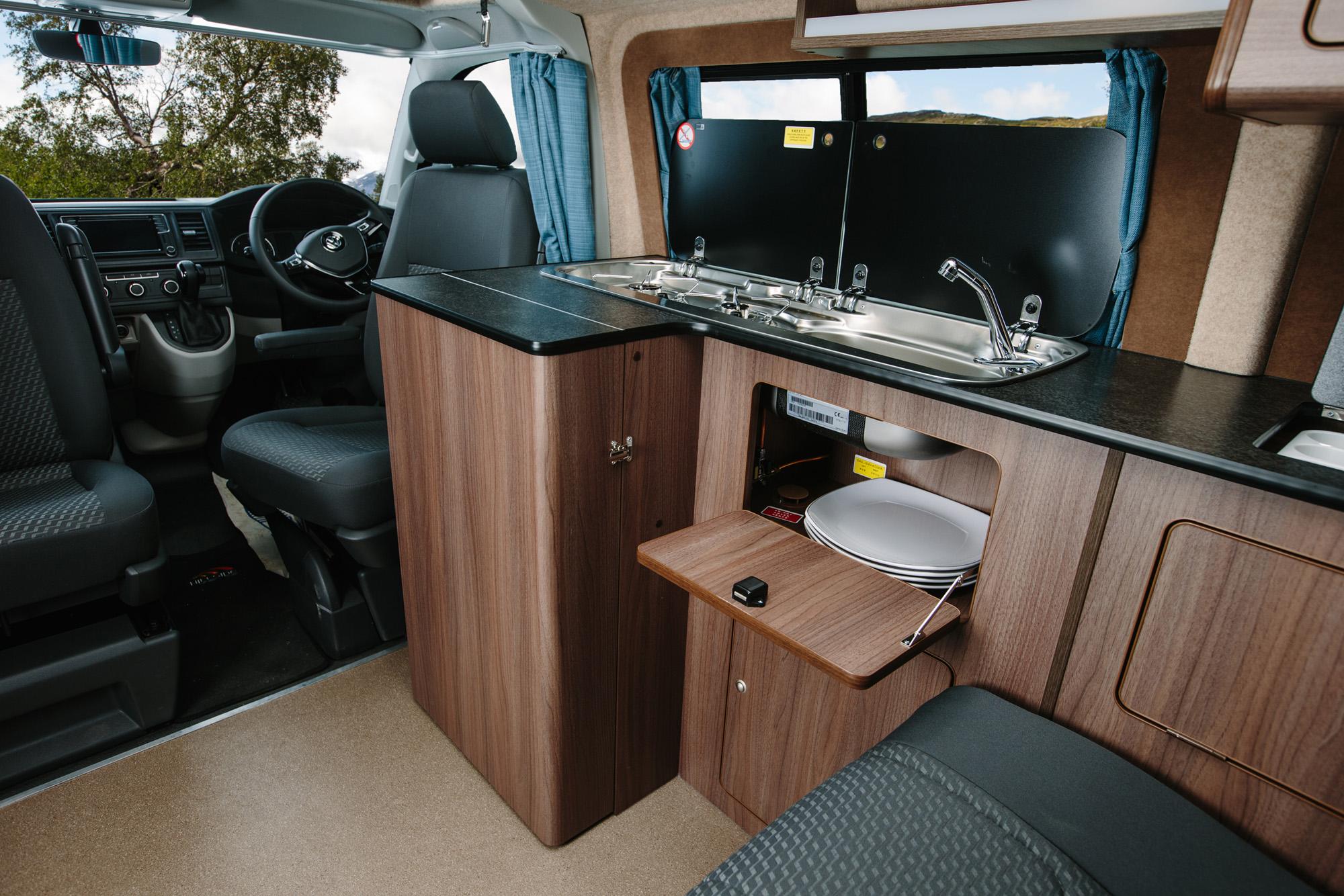 The New Vw T6 Campervan Hillside Leisure