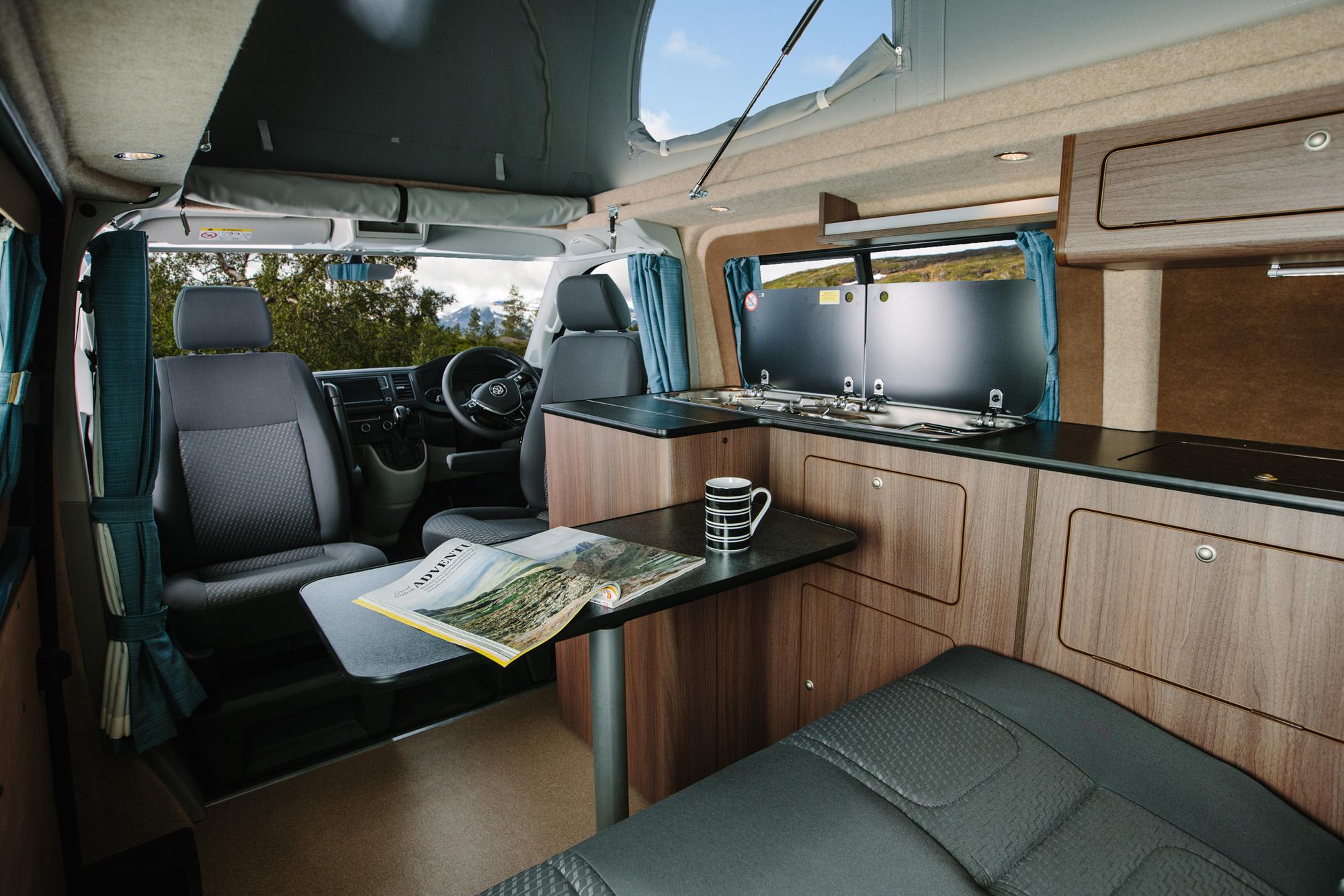 Fibre Glass High Top For Vito Van