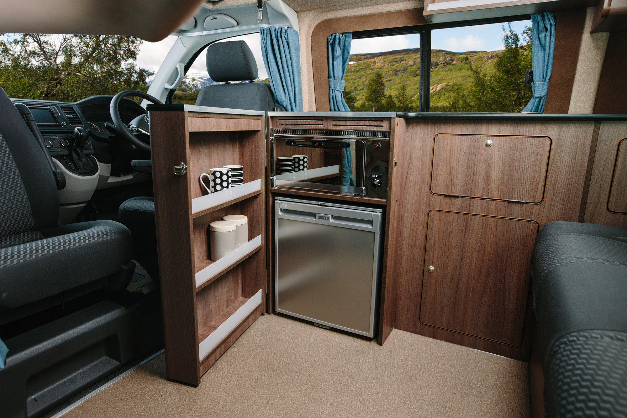 Heres A List Of Features You Can Expect To See In Our VW T6 Birchover Campervan Conversion